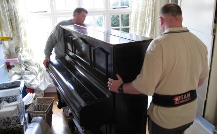 Вынос и вывоз пианино