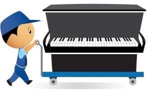 Вывоз и утилизация рояля