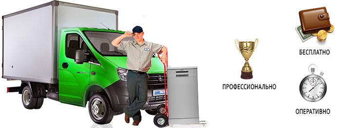 Вывоз и утилизация посудомоечных машин в СПб